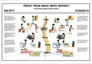 osteochondrozė patarimai nugarai